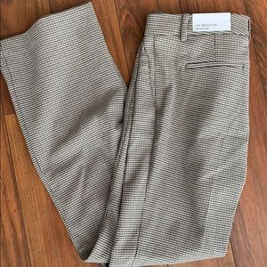 Houndstooth Ann Taylor trousers